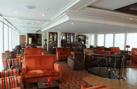 Main Lounge On AMA Waterways' MS Amadagio