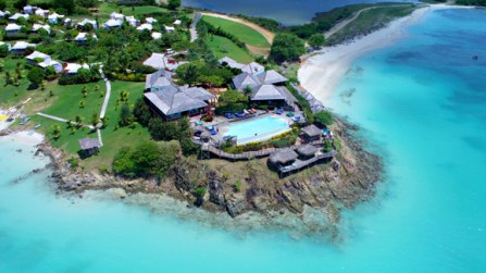 Aerial View of Cocobay Resort, Antigua