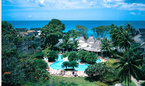 Aerial View of The Club, Barbados Resort & Spa