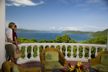 Lobby View at Allegro Papagayo Resort in Guanacaste, Costa Rica