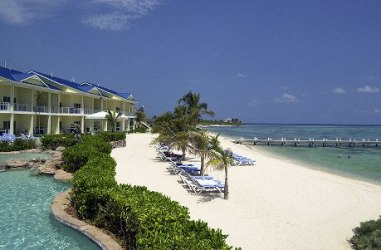 Beach at The Reef Resort, Grand Cayman, Cayman Islands