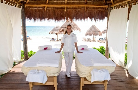 Ocean by H10 Hotels' Massage Cabanas on the Beach