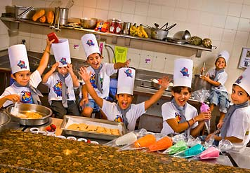 Kids' Club Activities at CasaMagna Marriott Cancun Resort, Mexico