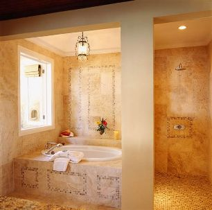 Luxurious Baths in Cottage Accommodations at Jamaica Inn, Ocho Rios, Jamaica