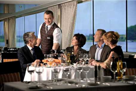 Gourmet Dining Onboard Avalon Waterways
