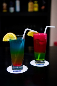 Colorful Drinks at Ocean by H10 Hotels