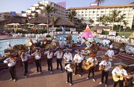 Mariachis at Allegro Nuevo Vallarta Resort in Puerto Vallarta, Mexico