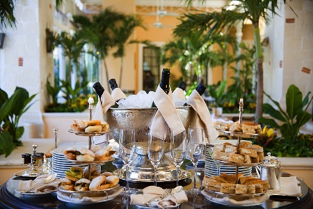 High Tea at Royal Hideaway Playacar in Riviera Maya, Mexico