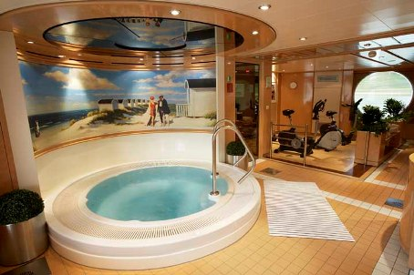 Fitness Center Onboard Avalon Scenery