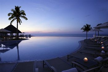 Sunrise at the Pool at Le Blanc Spa Resort in Cancun, Mexico