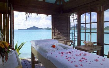 Spa Treatments on the Beach at Cocobay Resort in Antigua