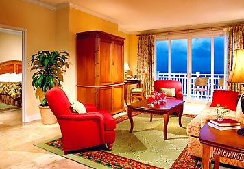 Suite Accommodations at Marriott St. Kitts Resort & The Royal Beach Casino, St. Kitts