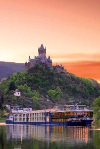 Avalon Tapestry on the Moselle River in Cochem, Germany