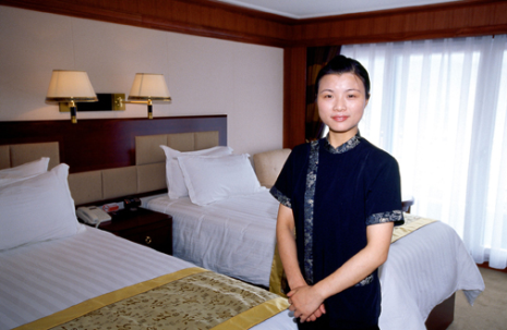 Victoria Cruises Staff Showcase Its Luxurious Accommodations