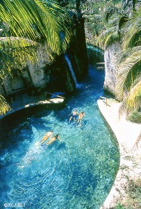 Xcaret Park at Occidental Grand Xcaret in Riviera Maya, Mexico